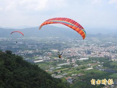 飛行傘運動首度征戰亞運  台灣健兒埔里虎頭山揮汗集訓