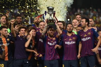 足球》梅西當隊長首戰就奪冠  生涯33冠成巴薩第一人