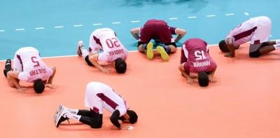 亞洲盃男排賽》卡達首闖決賽 巴西歸化球員強調非收錢當傭兵