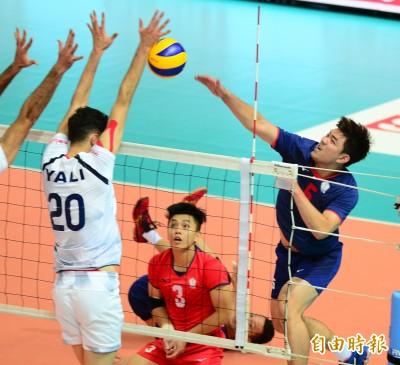 亞洲盃男排賽》不敵衛冕軍伊朗 台灣明與日本爭銅挑戰最佳成績