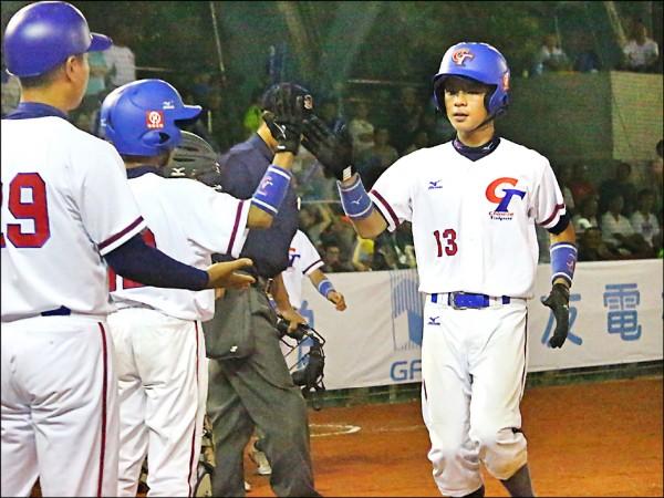 亞洲少棒賽》雙胞胎同場轟 台灣扣倒印尼