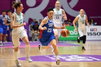 亞運台灣女籃出戰韓國聯隊 今日賽事預告與轉播