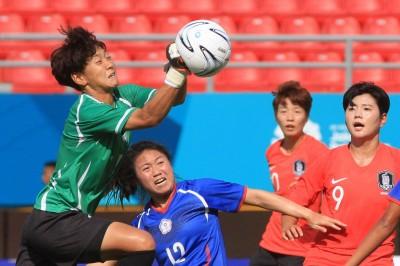 亞運》台灣女足亞運碰勁敵南韓  又是輸1球