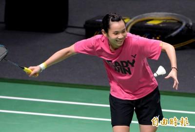 亞運》挑戰台灣羽球首金 戴資穎今首次在主場館練球