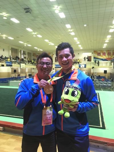 亞運》彰化之光!蔡澤民奪第一牌 啟蒙教練:他從小就不喜歡輸。