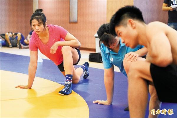 亞運》奧運傷退 角力陳玟陵「鍊心」也「練新」