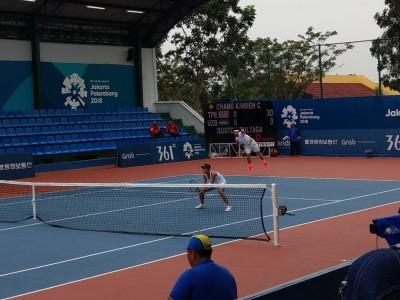 亞運網球》張凱貞、謝政鵬奏捷 第2組台將晉混雙16強