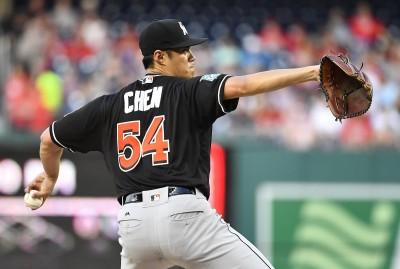 MLB》差1人次優質先發 陳偉殷客場好投退場露苦笑