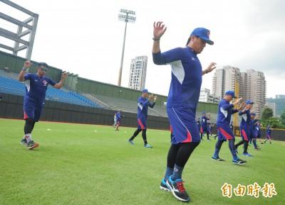亞運棒球》成棒隊全員到齊 今首度練球