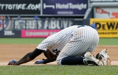 MLB》洋基贏球傳噩耗 22轟游擊手「DIDI」掛傷號