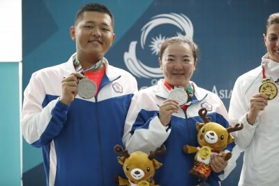 亞運》楊昆弼、林怡君聯手出擊 為台灣再添一面銀牌