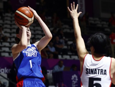 亞運》台灣女籃大勝印尼64分  分組第一晉級八強