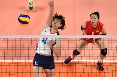 亞運》強碰里約奧運金牌 台灣女排遭中國以直落三擊敗