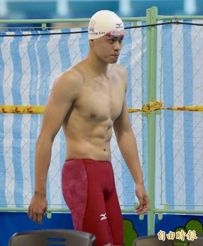 亞運》林建良卯足全勁  50公尺自由式游進決賽