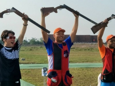 亞運》不定向飛靶平世界紀錄  楊昆弼4歲就註定成為神槍手