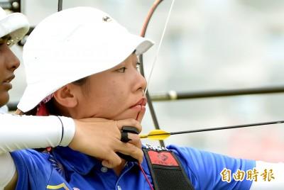 亞運》爭金奪銀! 台灣反曲弓女團排名賽搶下第二種子