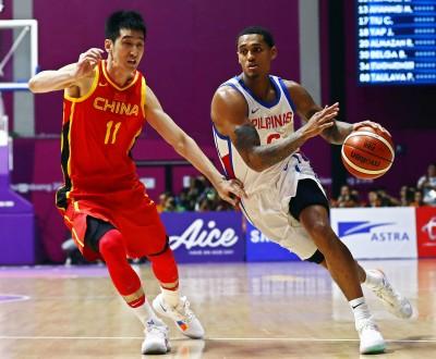 亞運籃球》克拉克森首秀繳28分 菲律賓2分差不敵中國
