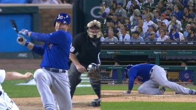 MLB》轟到自己都跪了! 小熊瑞佐「五體投地」超狂全壘打(影音)