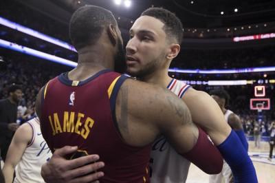 NBA 》詹皇西進洛杉磯 西蒙斯:我對他失望