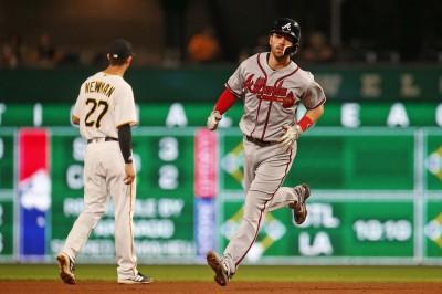 MLB》史萬森雙響4打點 勇士客場大勝海盜
