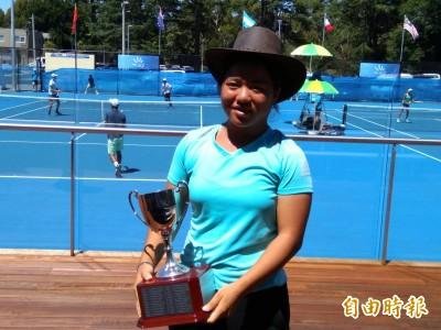 亞運網球》史上女單首牌到手!「小鋼砲」梁恩碩勇闖4強戰