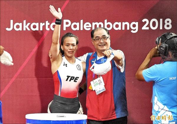 亞運》郭婞淳的金牌拼圖 只差奧運