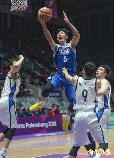 亞運籃球Live》不到最後一刻不放棄!台灣雖輸南韓仍展現拚勁