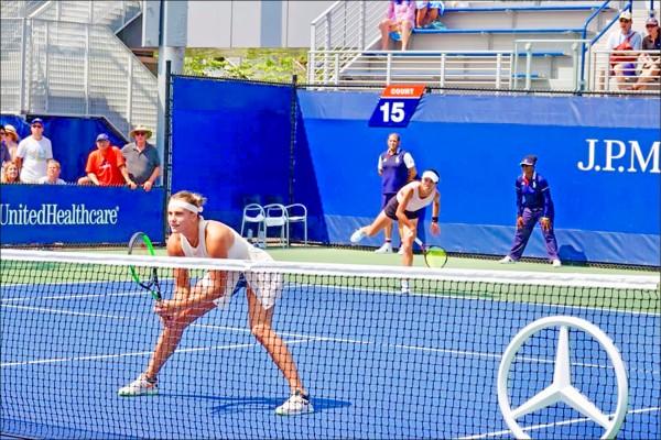 美國網球公開賽》小薇雙打闖16強 小詹次輪止步