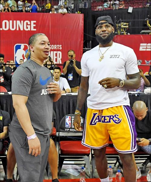 NBA百大球星 詹皇連6年第一