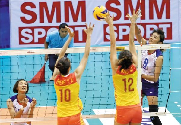亞洲盃對中吞敗 台灣女排今出戰越南