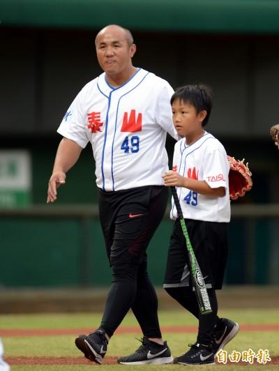 棒球》張泰山本週引退 希望承接徐生明的偏鄉棒球教室