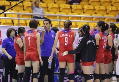 亞洲盃》台灣女排驅韓成功!總教練點出關鍵