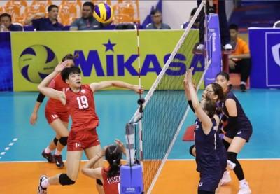 亞洲盃》台灣女排贏南韓 取得4強門票創隊史最佳
