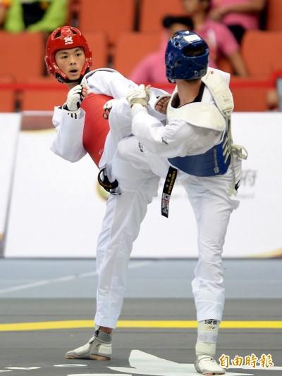 跆拳道大獎賽》黃鈺仁揮別亞運失利 為地主保住一面銅牌