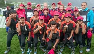 一鳴驚人!南非世界盃拔河賽   南投高中女子隊首戰奪金