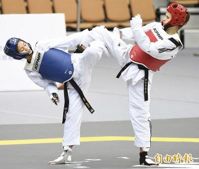 跆拳道》亞運金牌美少女蘇柏亞升級打怪 首場大獎賽買經驗
