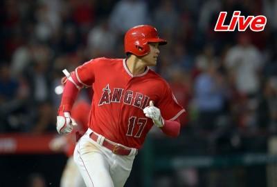 MLB Live》大谷翔平先發第四棒 天使 VS. 運動家