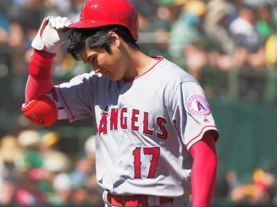 MLB》大谷翔平2打數沒表現 天使慘遭運動家灌21分痛宰