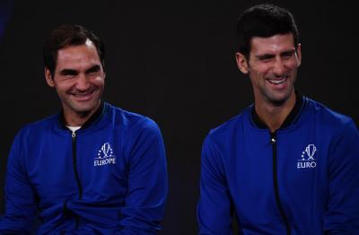 網球》比抱起納達爾更激情!費德爾想好和喬帥搭檔「花招」