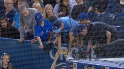 MLB》不思議大絕招 讓塞揚黑馬親自送球給你(影音)