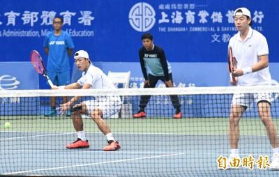 網球》王宇佐/許育修驚天大逆轉 首闖高雄海碩盃雙打決賽