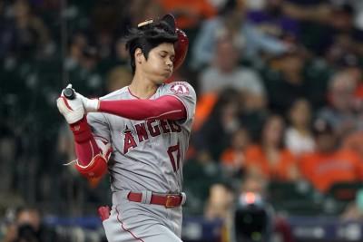 MLB Live》大谷翔平4支0吞2K  天使 3:11不敵太空人