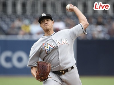 MLB Live》陳偉殷7局分好投、蓋勒威敲再見安   馬林魚勝紅人