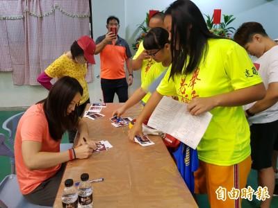 全國總統盃舉重錦標賽登場    郭婞淳簽名會引騷動