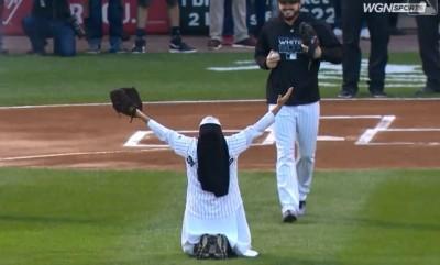 MLB》前次丟「完美曲球」讓人傻眼 超狂修女再獲邀開球(影音)
