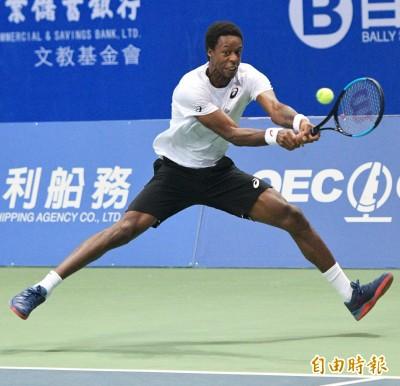 網球》「跳跳虎」蒙菲爾斯3盤再禦韓 法國頭號種子海碩盃首度稱王