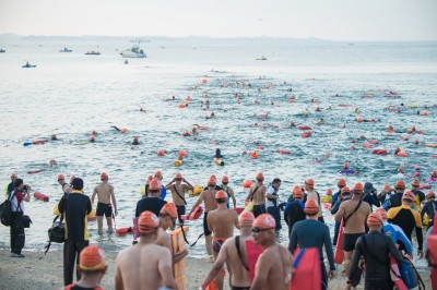 世界最美麗海灣泳渡澎湖灣 5000公尺泳渡壓軸登場