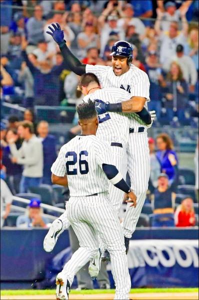 MLB》希克斯再見安 洋基獲美聯外卡