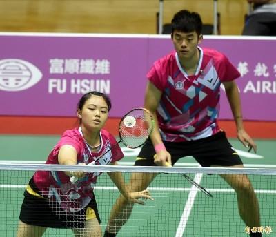 南韓公開賽》台灣混雙組合快意晉級 周天成明戰印尼好手