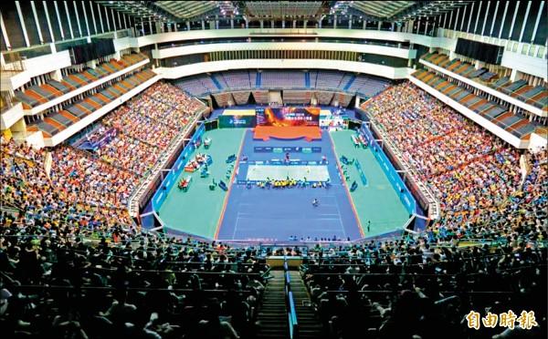 言羽攻略》台北羽球公開賽 場館媲美奧運